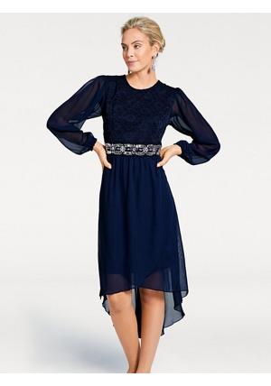 ASHLEY BROOKE by heine Krajkové šaty Ashley Brooke by heine indigová modrá ae253f0966c
