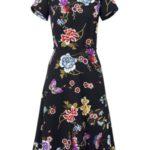 ASHLEY BROOKE by heine Šaty s květinovým vzorem Ashley Brooke by heine černá-více barev