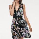 ASHLEY BROOKE by heine Vzorované šaty s motýlky Ashley Brooke by heine černá-více barev