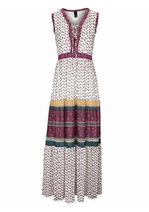 63e95296d856 B.C. BEST CONNECTIONS by heine Vzorované dlouhé šaty B.C. Best Connections  by heine pestrobarevná