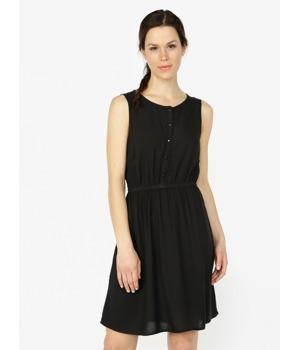 75302a2ad36b Černé šaty bez rukávů VERO MODA Boca
