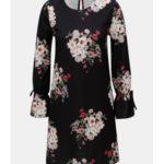 Černé šaty s dlouhým rukávem Dorothy Perkins