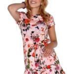 Dámské šaty model P30228 růžová – Merribel