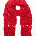 Diverse šála dámská RUMBA červená vlněná