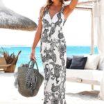 Dlouhé šaty Lascana paisley-černá