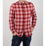 Košile Diesel S-Oasis Camicia Červená