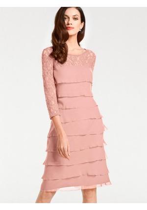 ff34d12dd663 Krajkové šaty Ashley Brooke by heine růžová