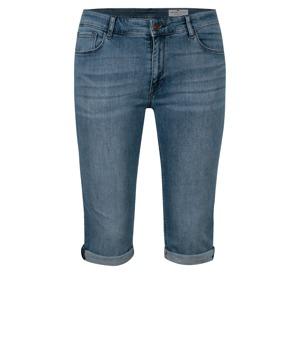 Modré dámské slim fit džínové kraťasy s vysokým pasem Cross Jeans ... 6e4d235866
