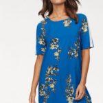 Only Letní šaty »CASA« Only modrá s potiskem