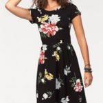 Only Letní šaty »DALIA« Only černá-s potiskem