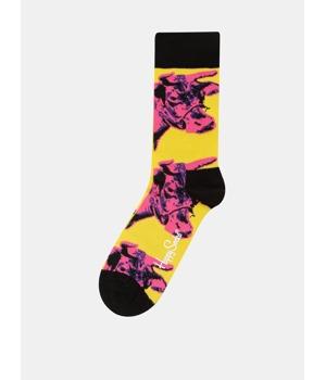 ruzovo-zlute-unisex-ponozky-s-motivem-kravy-happy-socks-andy-warhol.jpg