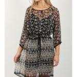Šaty Replay W9687 Dresses Černá