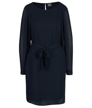 tmave-modre-saty-s-prusvitnymi-plisovanymi-rukavy-selected-femme-freja.jpg