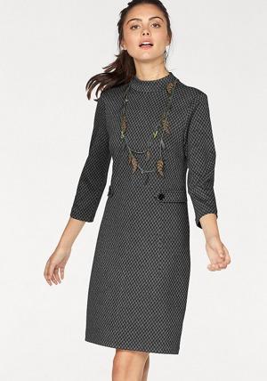 08efebf831f0 Tom Tailor Tom Tailor Pouzdrové šaty antracitová-vzorovaná