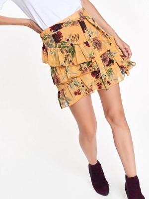 top-secret-sukne-damska-zluta-s-kvetinami-a-volanky.jpg