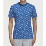 Tričko adidas Originals Aop Tee Modrá