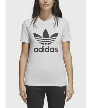 21fb0251a39 Tričko adidas Originals Trefoil Tee Bílá