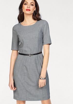 Vero Moda Pouzdrové šaty »OLIVIA HELEN« Vero Moda šedá-melír ... 11ffb27e29