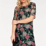 Vero Moda Vzorované šaty »LILI« s květinovým vzorem Vero Moda černá-květovaná