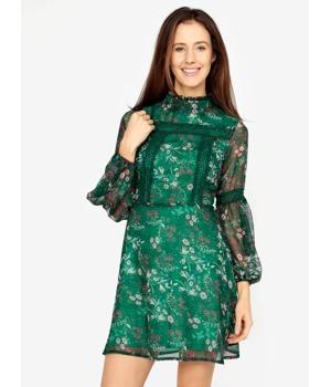 zelene-kvetovane-minisaty-s-dlouhym-rukavem-missguided.jpg