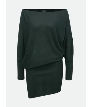 Zelené třpytivé asymetrické šaty ONLY Janni  7b3a10c850