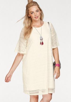 b1cb72f732a6 Zizzi Krajkové šaty Zizzi bílá